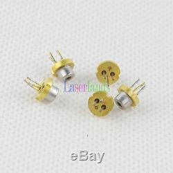 10pcs 5.6mm 80mW 100mw 650nm 660nm Red Laser Diode LD with PD TO18