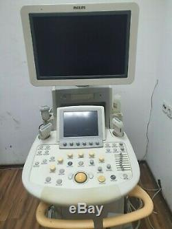 2010 PHILIPS ULTRASOUND iU22 MACHINE PERFECT CONDITION 4 PROBES G CART