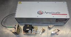 300 fs amplitude systemes fiber ultrafast femtosecond laser WITH compressor