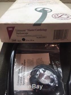 3M Littmann Master Cardiology Stethoscope 27 Inch Black Tube 2160