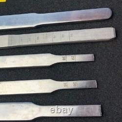 5 Pc Hip And Condylar Special Supplementary Chisel Medical Equipment Surgical