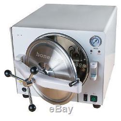 8L/18L 900W USA Medical Dental Autoclave Sterilizer Steam Lab Equipment Safe Use