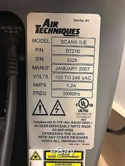 Air Techniques ScanX ILE 2007 Dental Digital Imaging System FREE SHIPPING