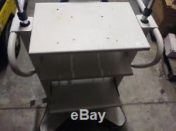 Arthrex Dual IV Surgery Rolling Cart W Storage Shelves Medical Equipment Supply