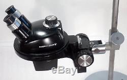 B&L Stereomikroskop Stereolupe Stemi Stereozoom 4 / Vergrößerung Zoom 10-45x