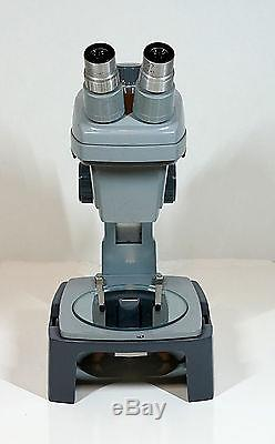 Bausch Lomb StereoZoom 4 Microscope 0.7 3X Zoom with 15X WF Lenses