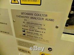 Beckman Coulter / Olympus AU 680 Chemistry Analyzer + ISE Module YOM 2013