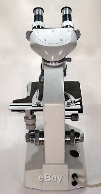 Binokulares Arzt Labor Mikroskop 50-1250x Hellfeld Köhlerbeleuchtung