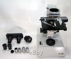 Binokulares Arzt Labor Mikroskop Will BX300 50-1250x Hellfeld (Dunkelfeld)