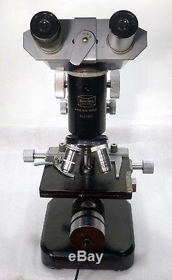 Binokulares Labor Arzt Kurs Mikroskop Rhein Optik Wetzlar 100 1050x