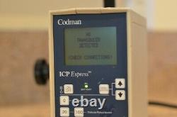 CODMAN 82-6634 ICP Express Transducer Patient Monitor Medical Equipment Monitor