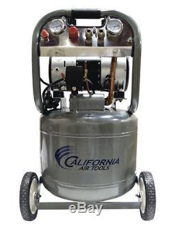 California Air Tools 10020 Ultra Quiet & Oil-Free Air Compressor USED