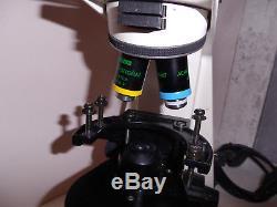 Carl Zeiss Axiolab Binocular Laboratory Microscope 903405 Working From Storage