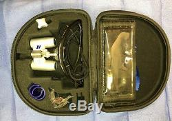 Carl Zeiss EyeMag Pro dental surgical loupes 3.3x450 on Oakley M Frame
