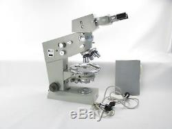 Carl zeiss jena amplival pol u mikroskop microscope mit objektiven