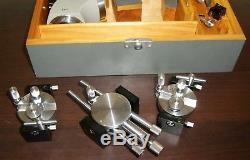 Carl Zeiss Jena Mikromanipulator Mikroskop set microscope micromanipulator box