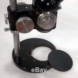 Carl Zeiss Stereomikroskop Stemi + Säulenstativ / Vergrößerung 6x bis 40x