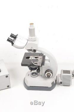 Carl Zeiss Stereomikroskop mit Trafo + Okularen ohne Objektive! Funktioniert