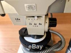 Carl Zeiss West Stereo mit Trinokular Mikroskop Top Zustand, bitte ansehen
