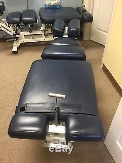 Chiropractic Adjusting Table Flexion Distraction and Drop