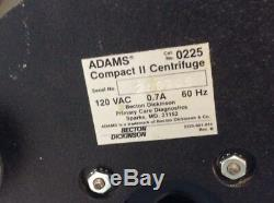 Clay Adams Becton-Dickinson Compact II Centrifuge #3, Medical, Lab Equipment