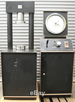 Compression tester, 250K lbs, 115V, Hydraulic, Concrete, Soiltest TESTED