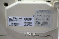 Criticare Scholar III 507 EL Patient Monitor Medical ECG Equipment