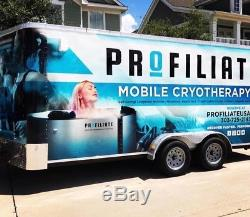 Cryotherapy trailer mobile Cryotherapy Whole Body Cryotherapy cryosauna
