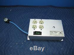 Dale IT400 Medical Grade Isolation Transformer 110V 3.5amp POWER SUPPLY 4 Plug