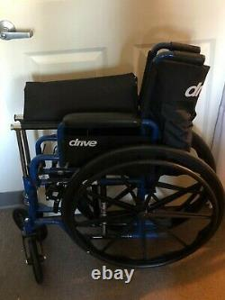 Drive, medical equipment barely used, blue and gray, several pieces