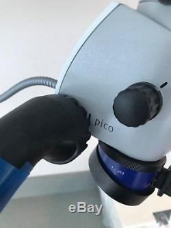 EXCELLENT Zeiss OPMI Pico Mora Interface Dental Medical Microscope Ceiling Mount