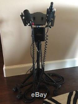 Erchonia Variable Percussor and Adjustor with 8 Attachments Case BONUS STAND