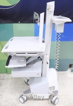Ergotron SV42-3311-1 SV Cart with LCD Pivot, SLA Powered, 1 Drawer
