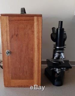Ernst leitz wetzlar electron microscope vintage rare antique