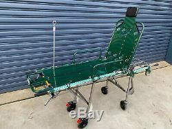 Ex NSW Ambulance Stretcher DHS Model 302 NSW Emergency Medical Equipment
