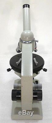 Exkursions Labor Mikroskop Feldmikroskop Kursmikroskop 80 900x LED-Licht