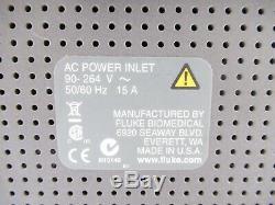 Fluke Biomedical Esa601 Electrical Safety Analyser Testing Medical Instruments