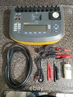 Fluke ESA620 115 VAC Electrical Safety Analyzer Medical Equipment Tester ESA-620
