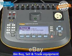 Fluke ESA620 115VAC Medical Equipment Tester Electrical Safety Analyzer ESA-620