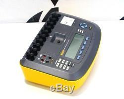 Fluke ESA620 230 VAC Electrical Safety Analyzer Medical Equipment Tester ESA-620