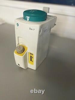 GE Datex Ohmeda TEC 7 Sevoflurane Anesthesia Vaporize Medical Equipment