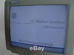 GE LOGIQ 3 Ultrasound with 3 probes Imaging
