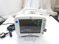Ge Dash 3000 Mobile Patient Bedside Vital Signs Nibp Spo2 Nbp Ecg Colour Monitor