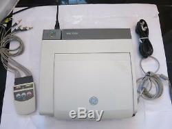 Ge Marquette Mac 5500 Ecg Machine Resting Wireless Patient Monitor Leads Printer
