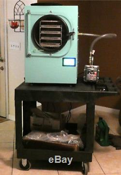 Harvest Right Standard 4 tray Freeze Dryer with industrial cart, lots of extras