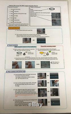 Hitachi TM-1000 Tabletop Scanning Electron Microscope Windows 10