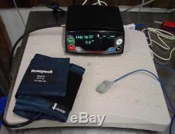 HomMed GENESIS Vital Signs blood pressure Monitor O2, BP, heart rate, Scale