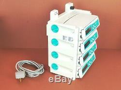 Infusion Pump B. Braun Infusomat Space x 4 +Braun Charging Docking Station