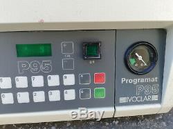 Ivoclar programat p95 Brennofen Schmelzofen mit Vakuumpumpe 1200°C in 40min