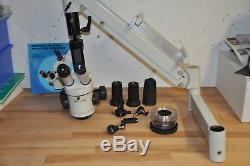 LEICA WILD Stereo-Mikroskop mit Schwenkarm + Zubehör